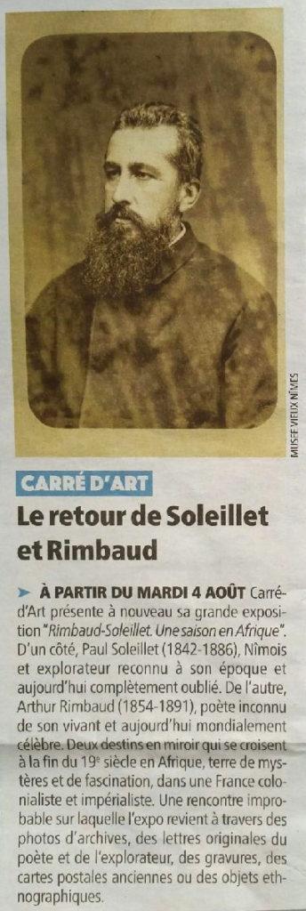 Dans la Gazette de Nîmes